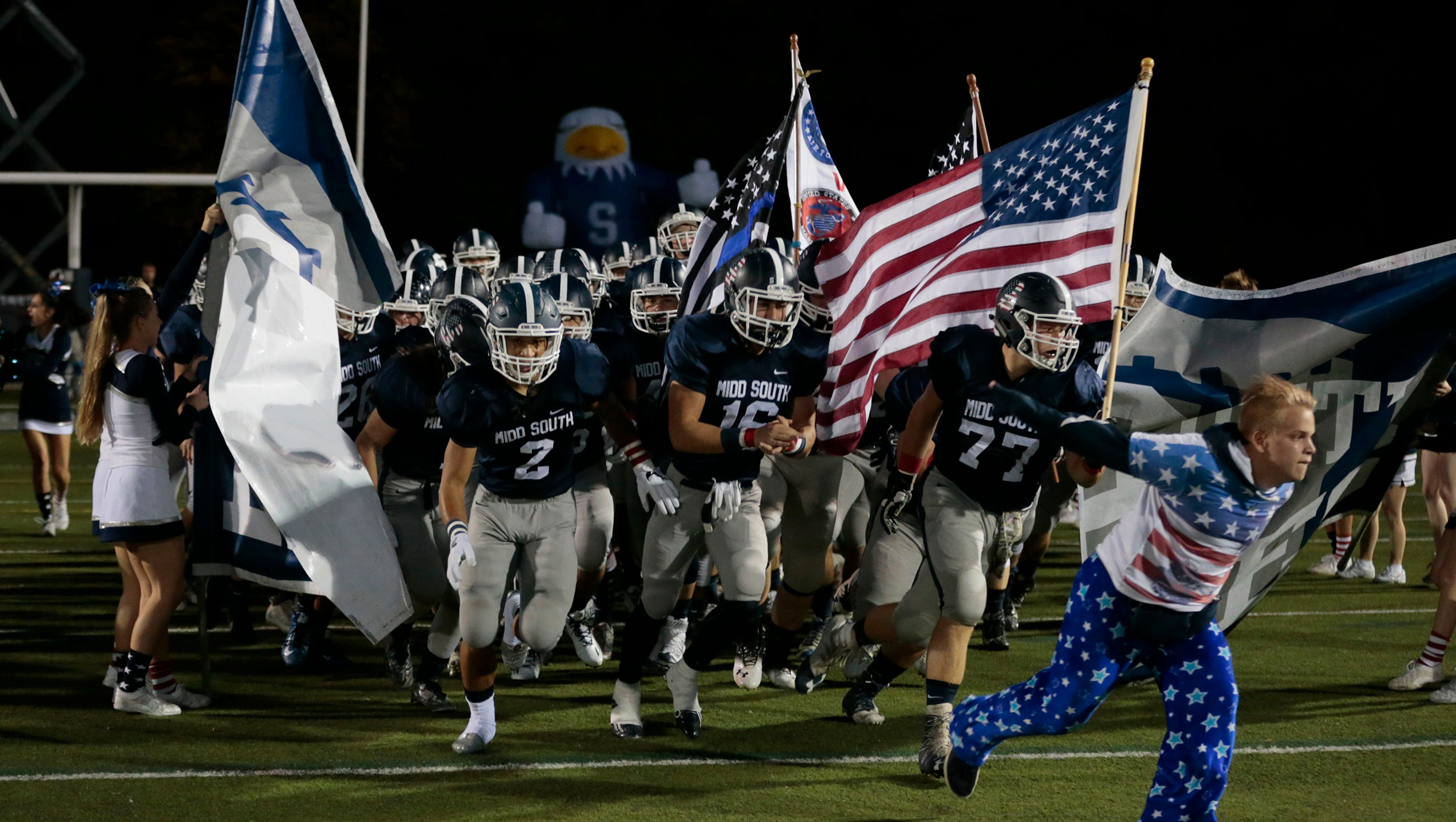 Toms River North Football Takes Down Middletown South