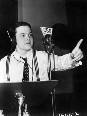 Orson Welles rehearses for one of mass media's first major pranks: the Oct. 30, 1938 broadcast of 'The War of the Worlds,' profiled on PBS' 'American Experience.'