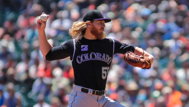 Colorado Rockies starting pitcher Jon Gray has been optioned down to the club's Triple-A team.