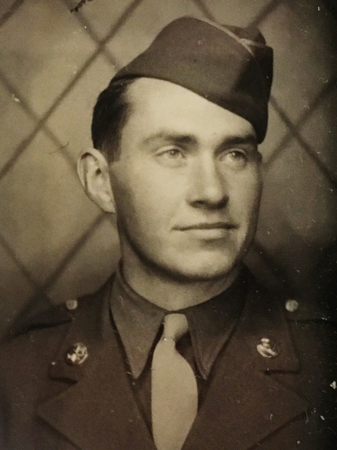 Mervin Rose was drafted into the Army during World War II, serving in the U.S. Army, 394th Signal Company Aviation from Nov. 3, 1942 to Dec. 15, 1944. He reached the rank of staff sergeant.
