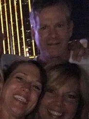 Mark Rosenberg, his wife Traci and their friend Valerie