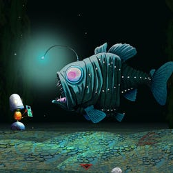 'Metamorphabet' wows kids with bold images and surprising animations as they help to transform the 26 letters of the alphabet into wondrous creations.