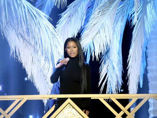 Nicki Minaj at 2016 American Music Awards on Nov. 20,