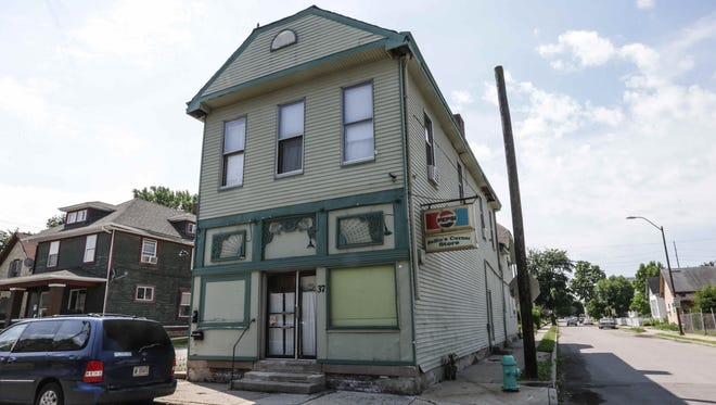 Nellie's Corner Store, located at the corner of Palmer and Union streets sits vacant on Friday, June 10, 2016. This property, and others, will be part of The Old Southside Neighborhood Association and Stadium Village Business Association's property showcase to attract developers and investment.