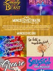 Muncie Civic Theatre has announced its 2016-17 season.