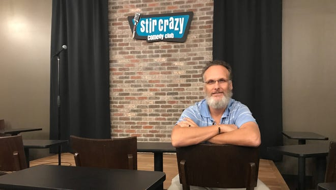 Tom Simes spent the past decade studying and working the comedy scene before opening Stir Crazy Comedy Club at the Westgate Entertainment District in Glendale in 2017.