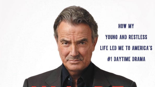 Eric Braeden autobiography cover---'I'll Be Damned