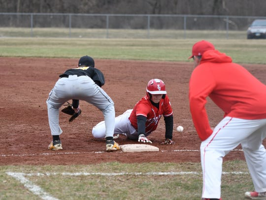 SJCC puts pressure on opponents with aggressive base-running.