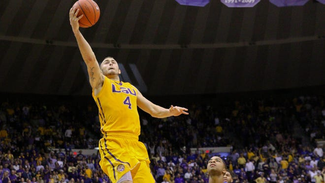 Keith Hornsby and the LSU Tigers will play in ESPN's tip-off marathon.