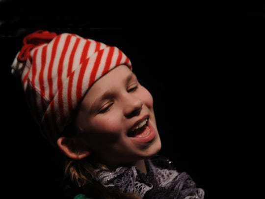 "Scout Feldman is one of the seven helpful night visitors in ""The Elves and the Shoemaker,"" running Dec. 5 to 7 at Third Avenue Playhouse."