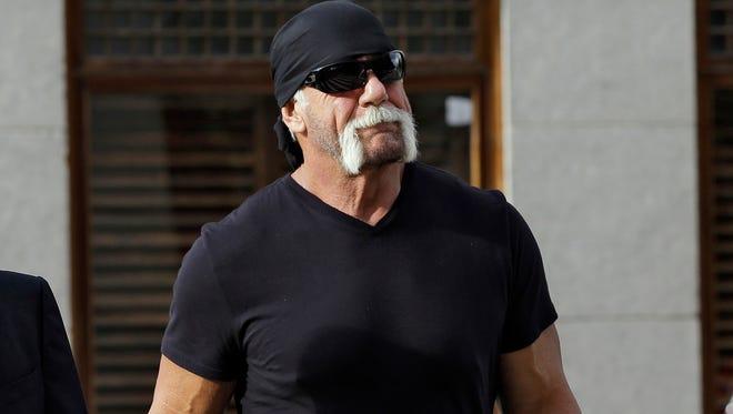 Former professional wrestler Hulk Hogan