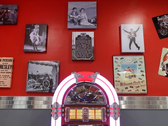 Vintage prints and a Crosley jukebox greet guests entering the Route 76 Diner at 7510 W. Layton Ave., just east of 76th Street, that is readying for a grand opening on Nov. 4.