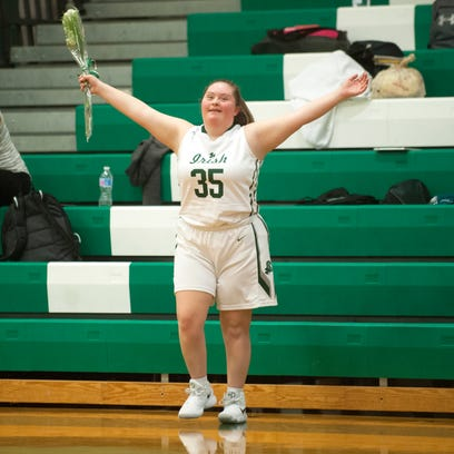 Camden Catholic's 'biggest cheerleader' has big night
