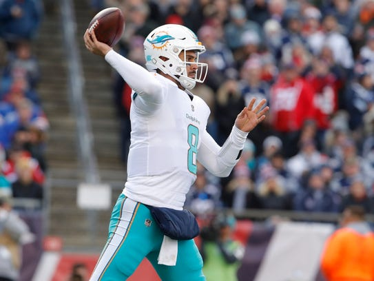 Matt Moore, Miami's long-time backup, would probably