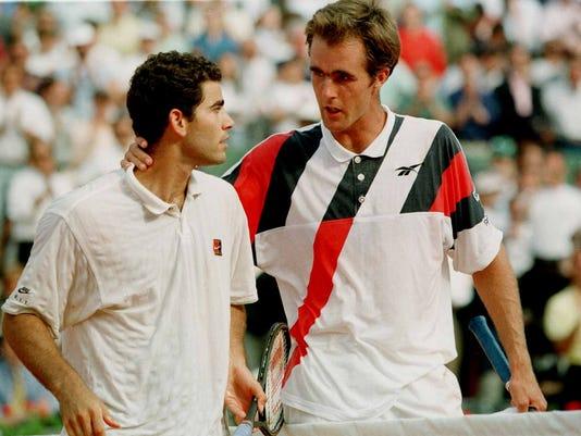 Todd Martin Pete Sampras French Open