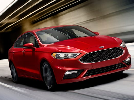 Ford has updated its Fusion sedan, including adding
