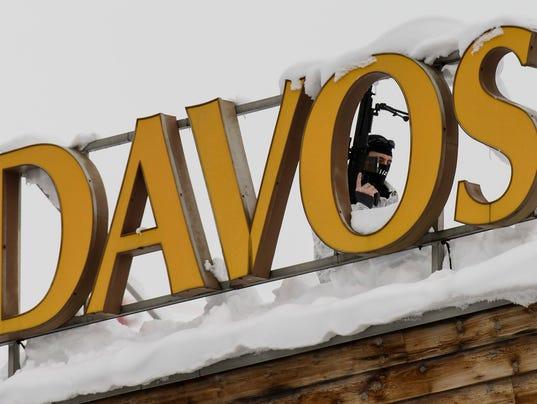EPA EPASELECT SWITZERLAND ECONOMY WEF 2016 DAVOS POL TREATIES & ORGANISATIONS SCH