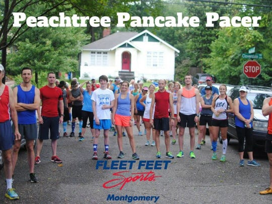 The Peachtree Pancake Pacer takes place Tuesday morning.