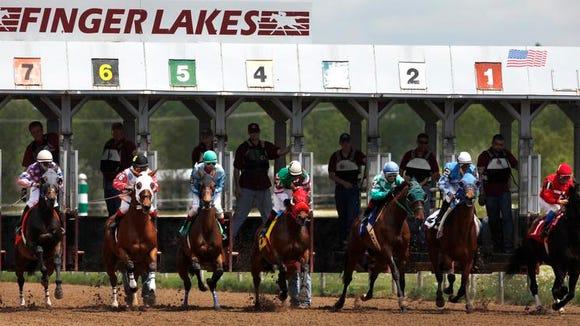 Finger Lakes Race Track in Farmington, Ontario County.