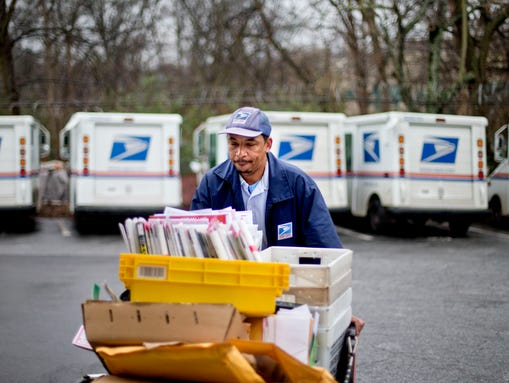Postal Service Expects 14 Surge In Holiday Deliveries