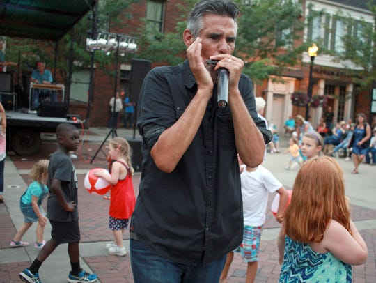 The Parks harmonica player Tim Gonzalez gets personal