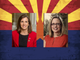 Republican Martha McSally and Democrat Kyrsten Sinema are in a tight race for Sen. Jeff Flake's seat.