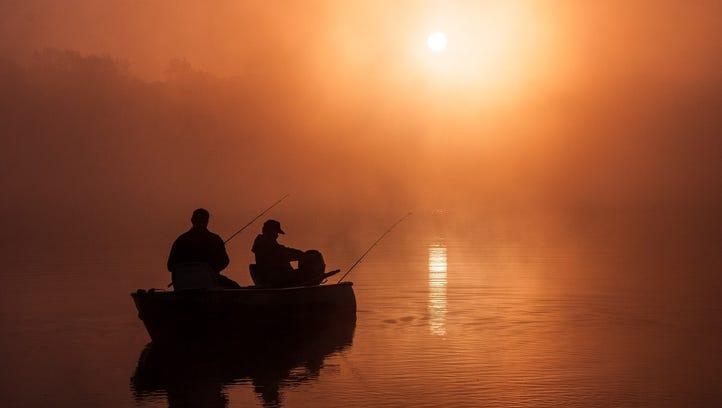 """Foggy Sunrise on Eagle Lake,"" by Steve Nowakowski"