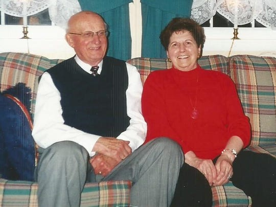 Bernie Weigle, left, and his longtime friend and companion,