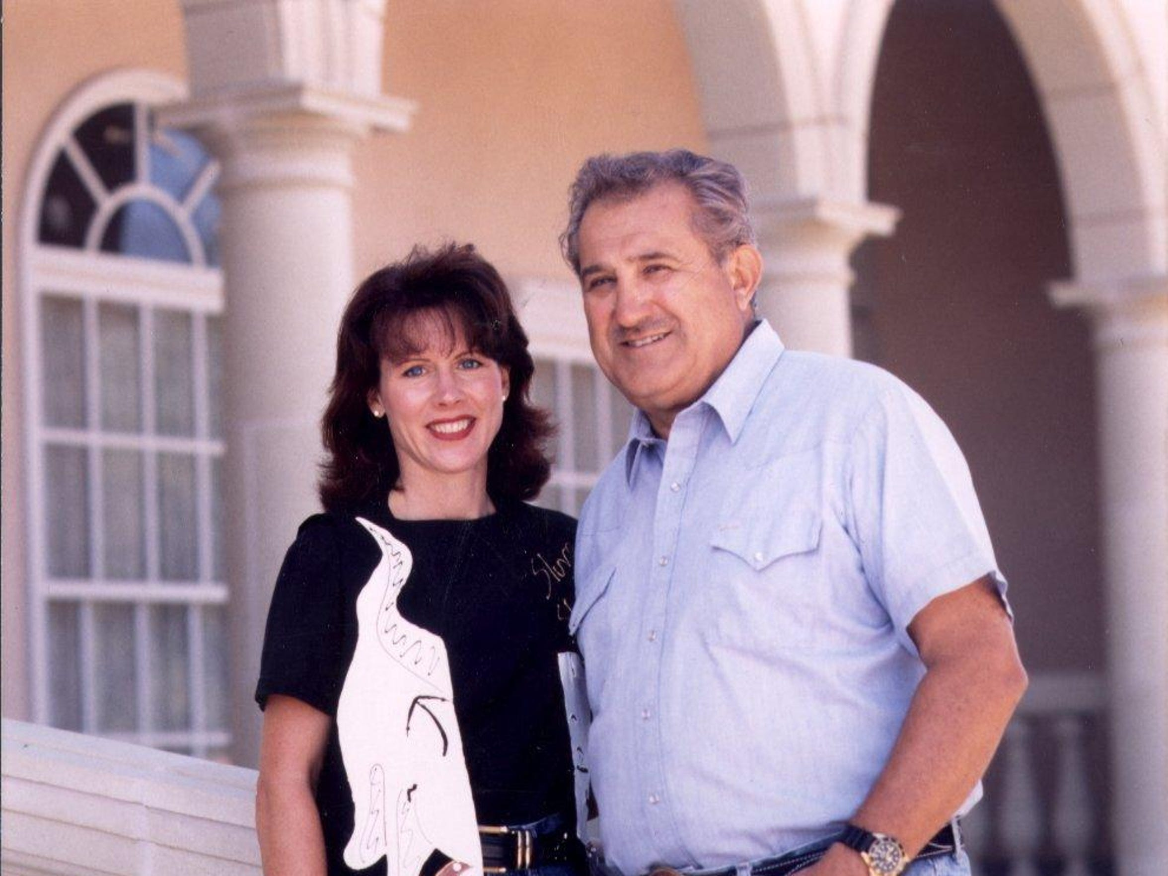 Don Carano and his wife Rhonda take a moment in the late 1990s at their Ferrari-Carano Vineyards and Winery, now one of Sonoma County's leading producers.
