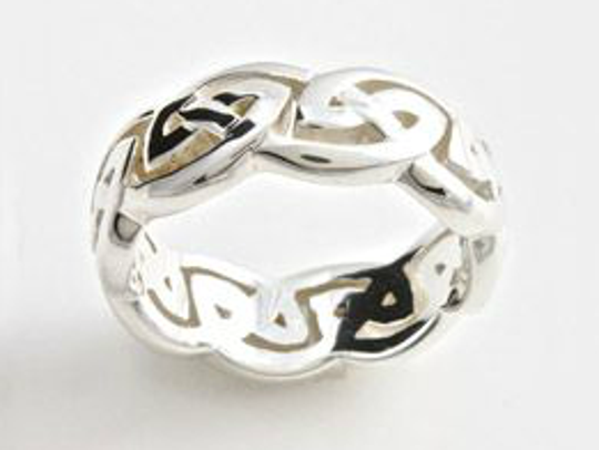 This Celtic ring on sale for $50 at Irish Import Shop's