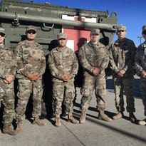 Infantry medics train with Beaumont personnel
