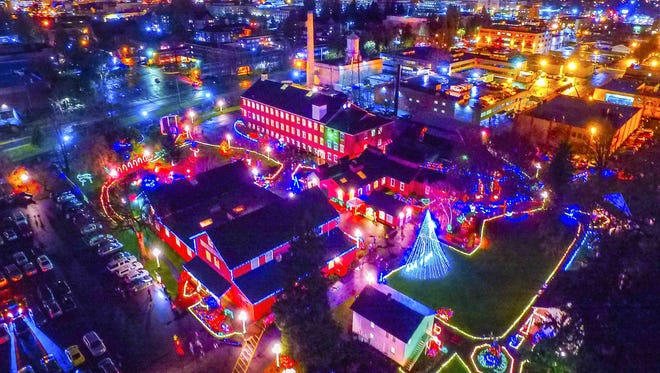 Magic at the Mill transforms Willamette Heritage Center's 5-acre campus into an illuminated wonderland Tuesday through Saturday, Dec. 19-23.