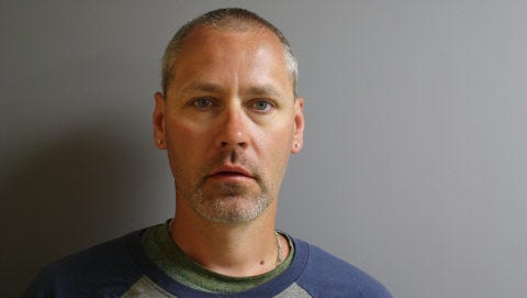 Ronald Downes, Jr. of Enosburgh Falls, photographed by St. Albans Police Department.