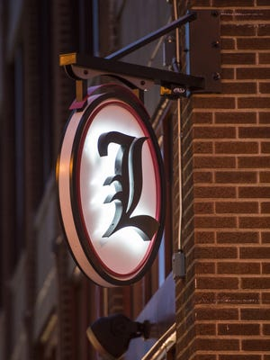 The sign outside of Lachey's Bar at 12th and Walnut streets in Over-the-Rhine.