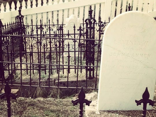 Silver Terrace Cemetery in Virginia City looks like something out of a horror movie.
