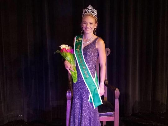Jenna Barker is the 2018 Wayne County Fair queen.