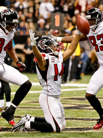 The Falcons can win the NFC South at 7-9 with a victory