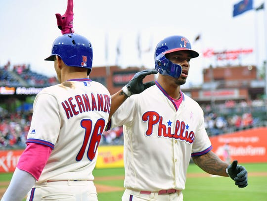 May 13, 2018; Philadelphia, PA, USA; Philadelphia Phillies