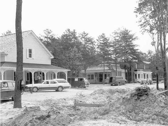 Buildings at Wheaton Village in Millville undergo construction