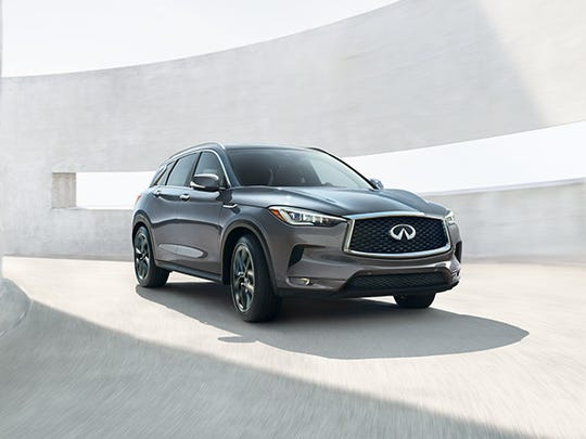 The Infiniti QX50 will be at this year's Des Moines