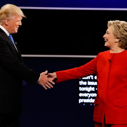 Clinton and Trump meet for their first presidential debate