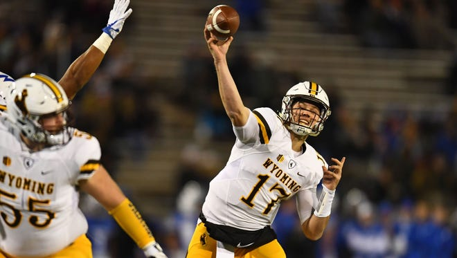Wyoming quarterback Josh Allen remains at the top of many scouts' leaderboard for the 2018 NFL Draft.