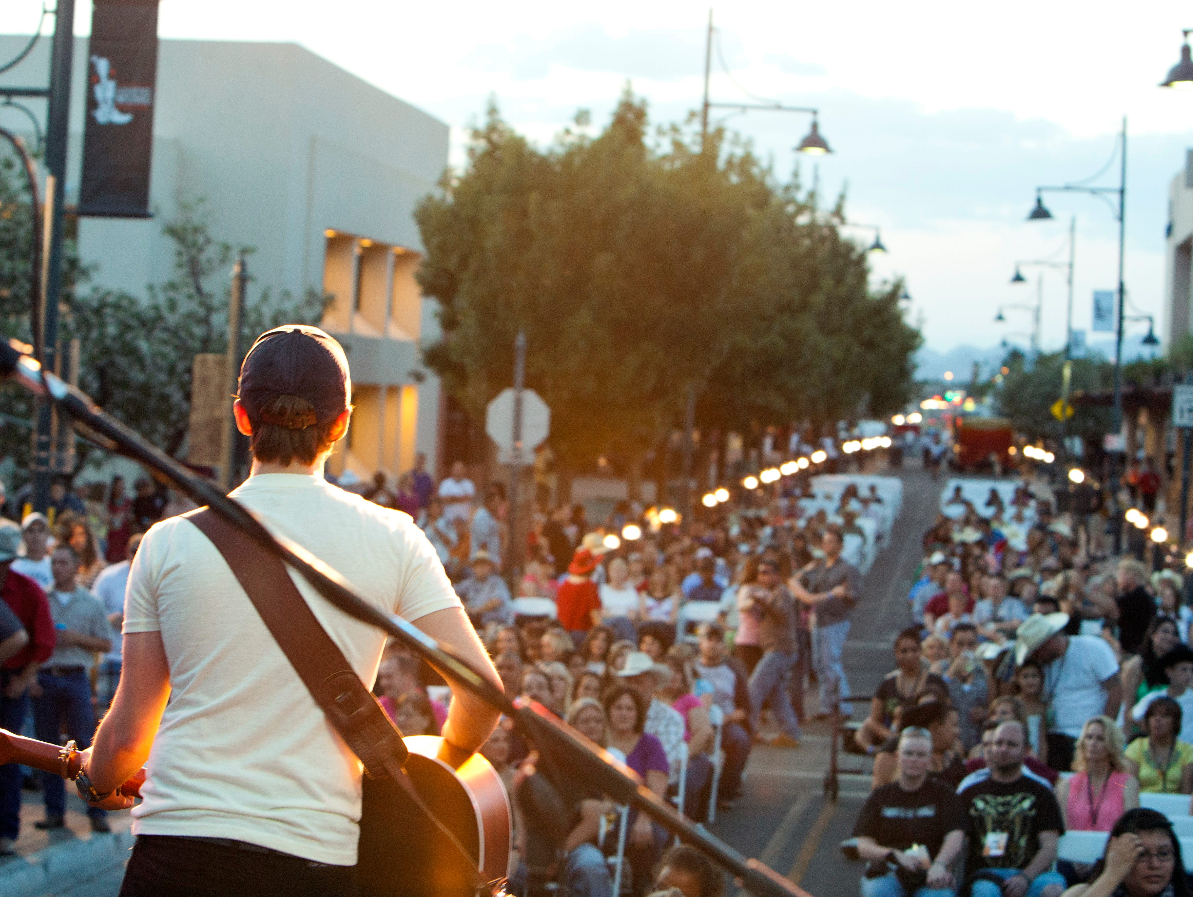 Enjoy a night of country music and local food at The 5th Annual Las Cruces Country Music Festival.
