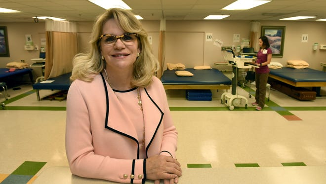 Dr. Mary Dillon, the Business Journal's Health Care Hero in the physician category, Friday, Jul. 28, 2017. She is the medical director at the Patricia Neal Rehabilitation Center.
