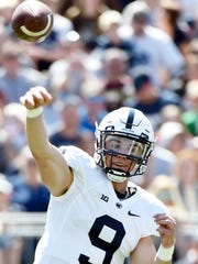 Penn State quarterback Trace McSorley came into the