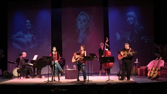 """""""Stardust and Butterflies...the music of Joni Mitchell, Judy Collins & Joan Baez at the TheatreRocs Showcase and performing Sept Sept. 24 for Fringe"""