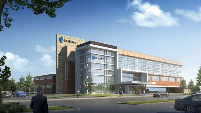 A proposed $95 million orthopaedic hospital in Warrick County can't be built unless county officials approve an economic development bond, according to the developer.