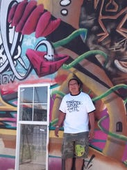 Saba, co-owner of Barricade Culture Shop in Las Cruces,