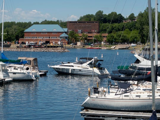Burlington Harbor on Friday, June 17, 2016.