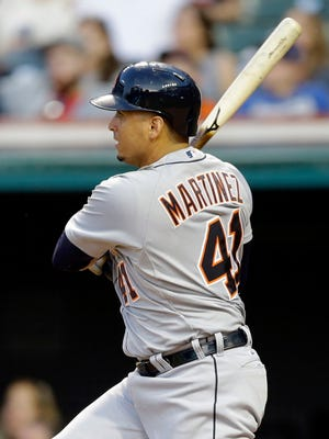 The return of Victor Martinez at DH protects Miguel Cabrera, which makes the Tigers' middle order a serious threat.